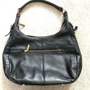 Black Daniel leather bag